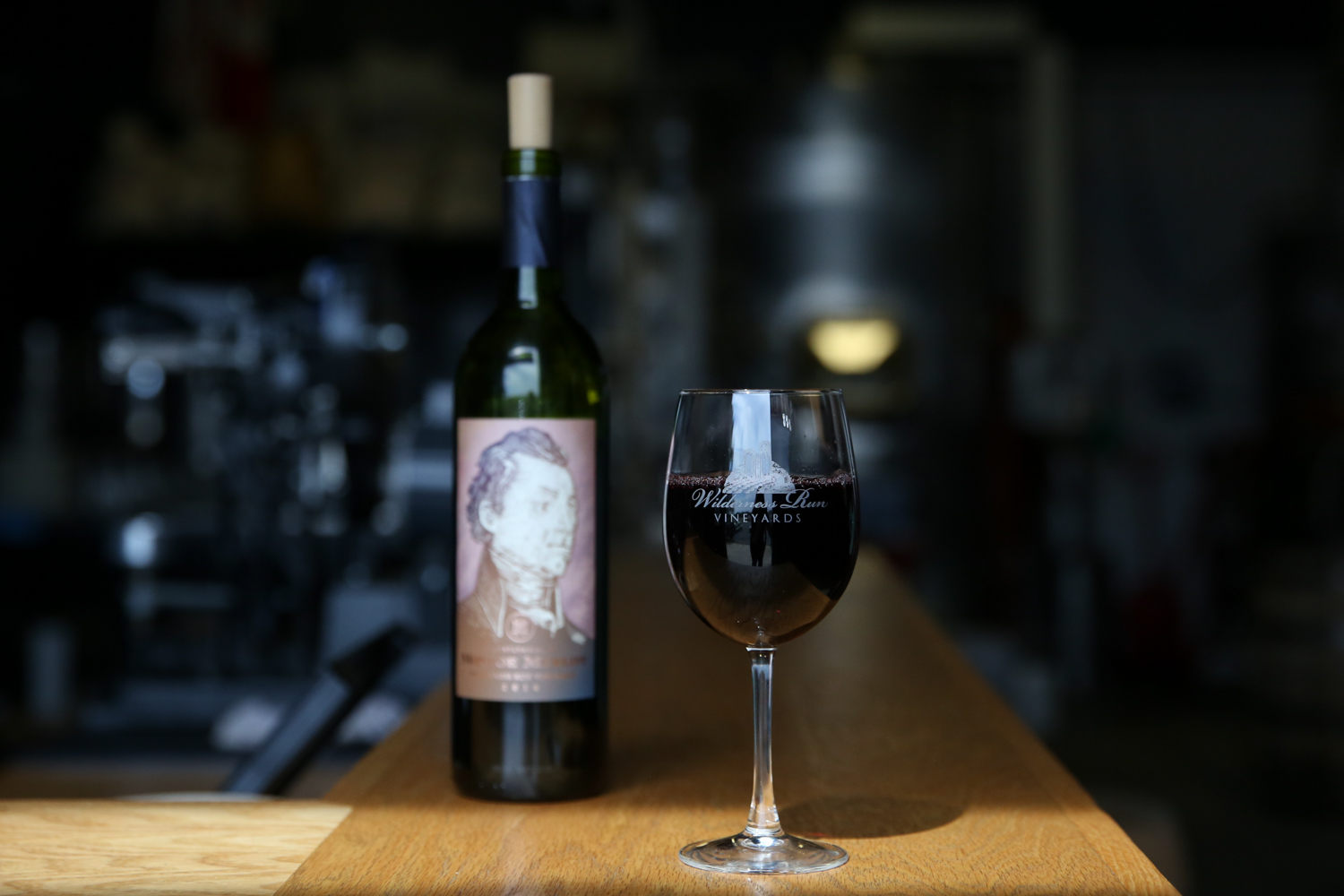 The wine (duh) -- The{ }2014 Monroe Merlot is{ } an easy, fruit forward, medium bodied wine that aged in a neutral French oak barrel for 28 months so it's as smooth as it can possibly be (Image: Amanda Andrade-Rhoades/DC Refined)
