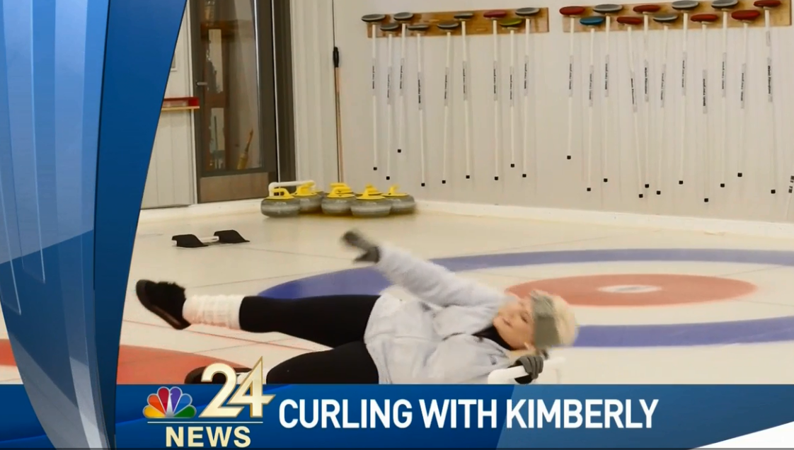Olympic athlete in the making; Meteorologist Kimberly Newman takes to the ice (WNWO)<p></p>