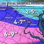Winter Storm Warning issued for the DC Metro area Saturday into Sunday