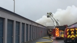 Fire damages storage units in Springfield