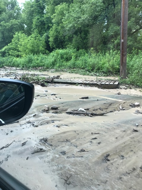 Storm rips through Madison County, downing trees and power lines