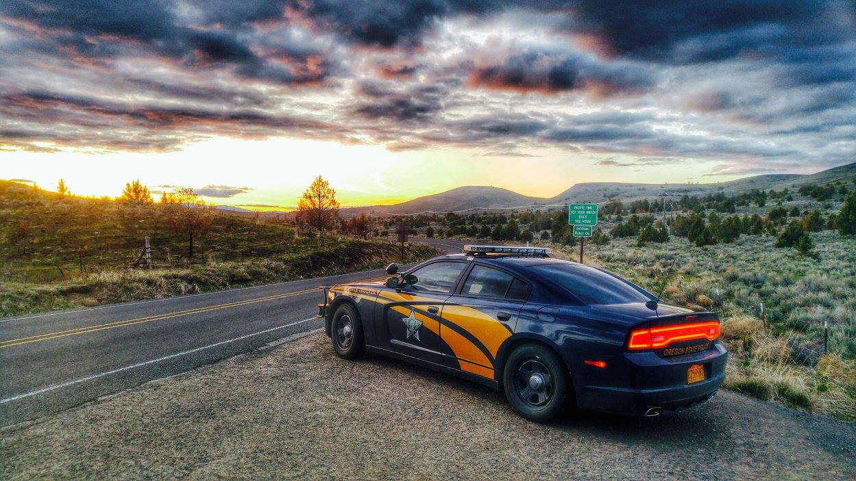 Oregon State Police. (American Association of State Troopers|Facebook)