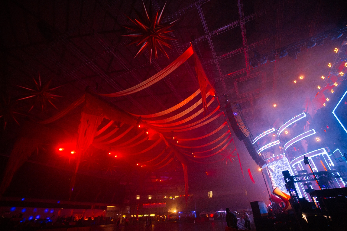 Over ten thousand people came to the Tacoma Dome for the 20th Annual FreakNight Electronic Music Festival. The two day event brings out wild costumes as fans dance the night away, go on rides and play carnival games. (Image: Joshua Lewis / Seattle Refined)