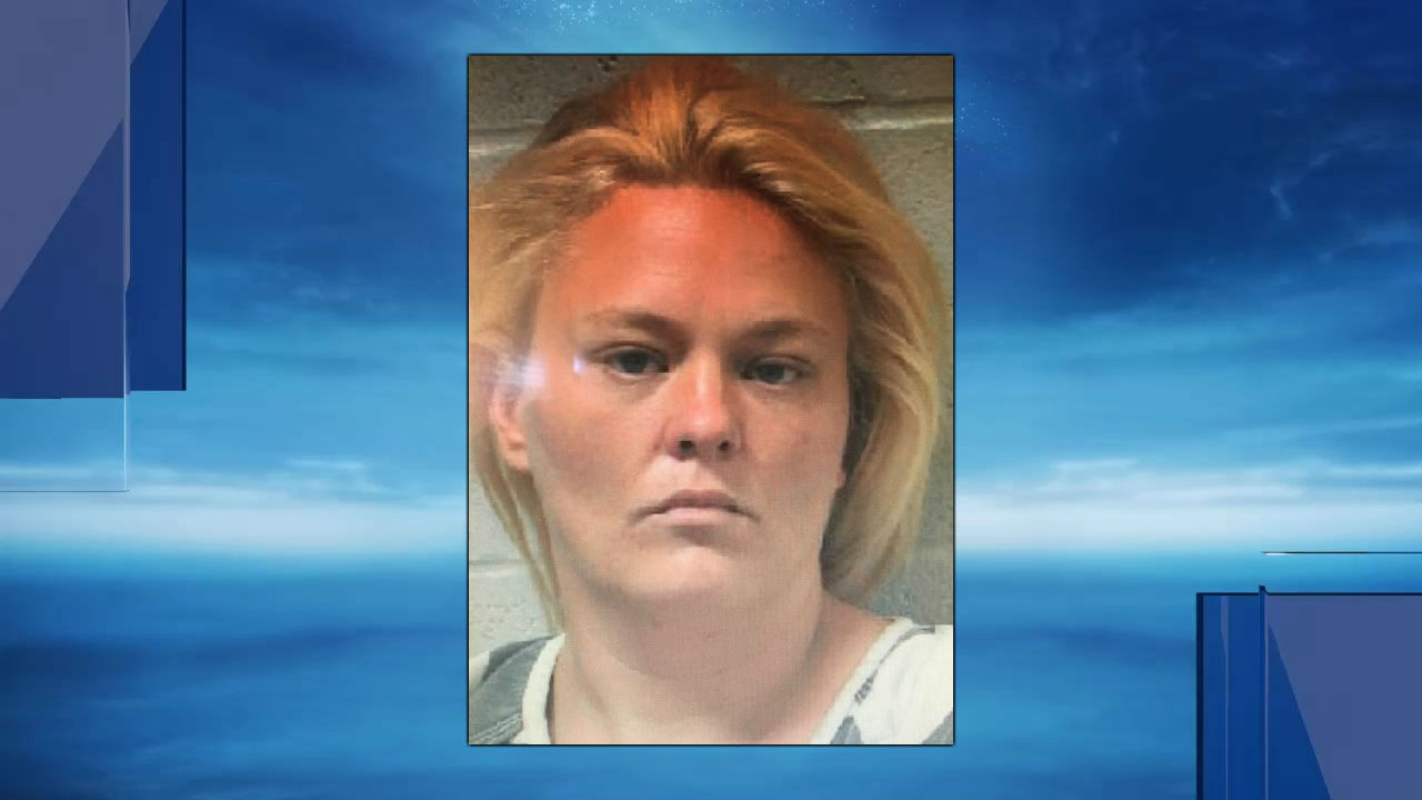 Angela Rainbolt, 43, was arrested June 13 in connection to the hunt for a Lincoln County Jail escapee. (Lincoln County Jail)