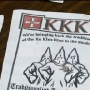 Ellensburg downplays KKK fliers in town