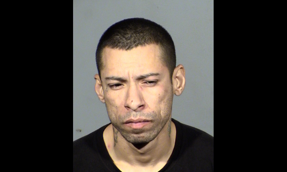 37-year-old Steven Ramirez is the former Burger King employee who police say became upset after managers told him his hours had been reduced. Police found a machete, rifle, and gun in his possession. (LVMPD)<p></p>