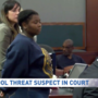 Student who sent texts threatening to 'blow up the school' appears in court