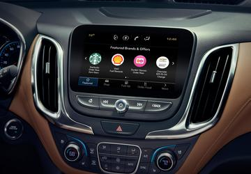 You can now order coffee, donuts from a GM vehicle