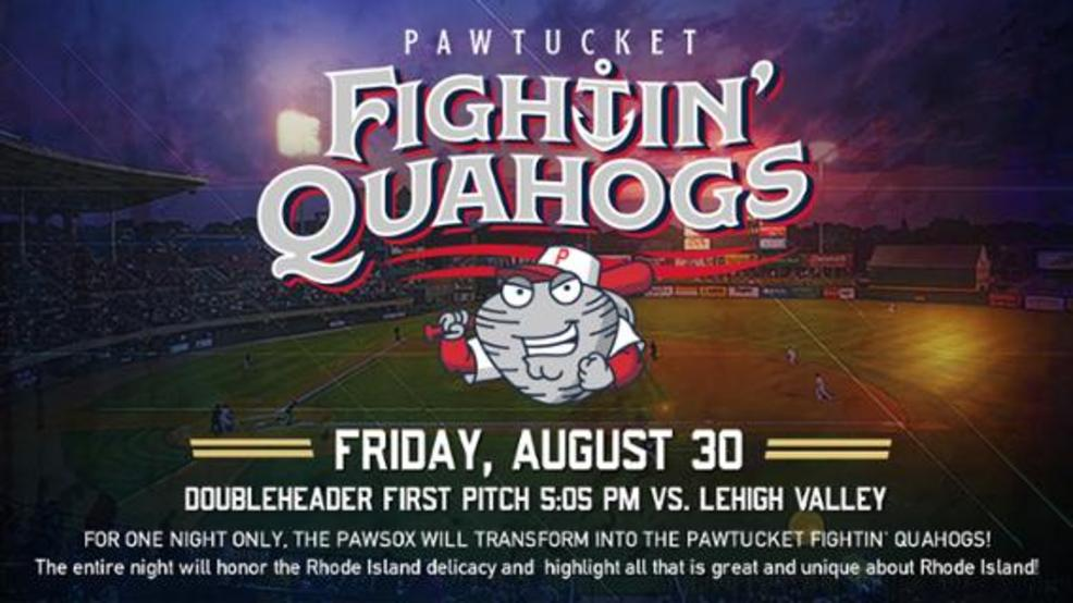PawSox will be Fightin' Quahogs for one night only