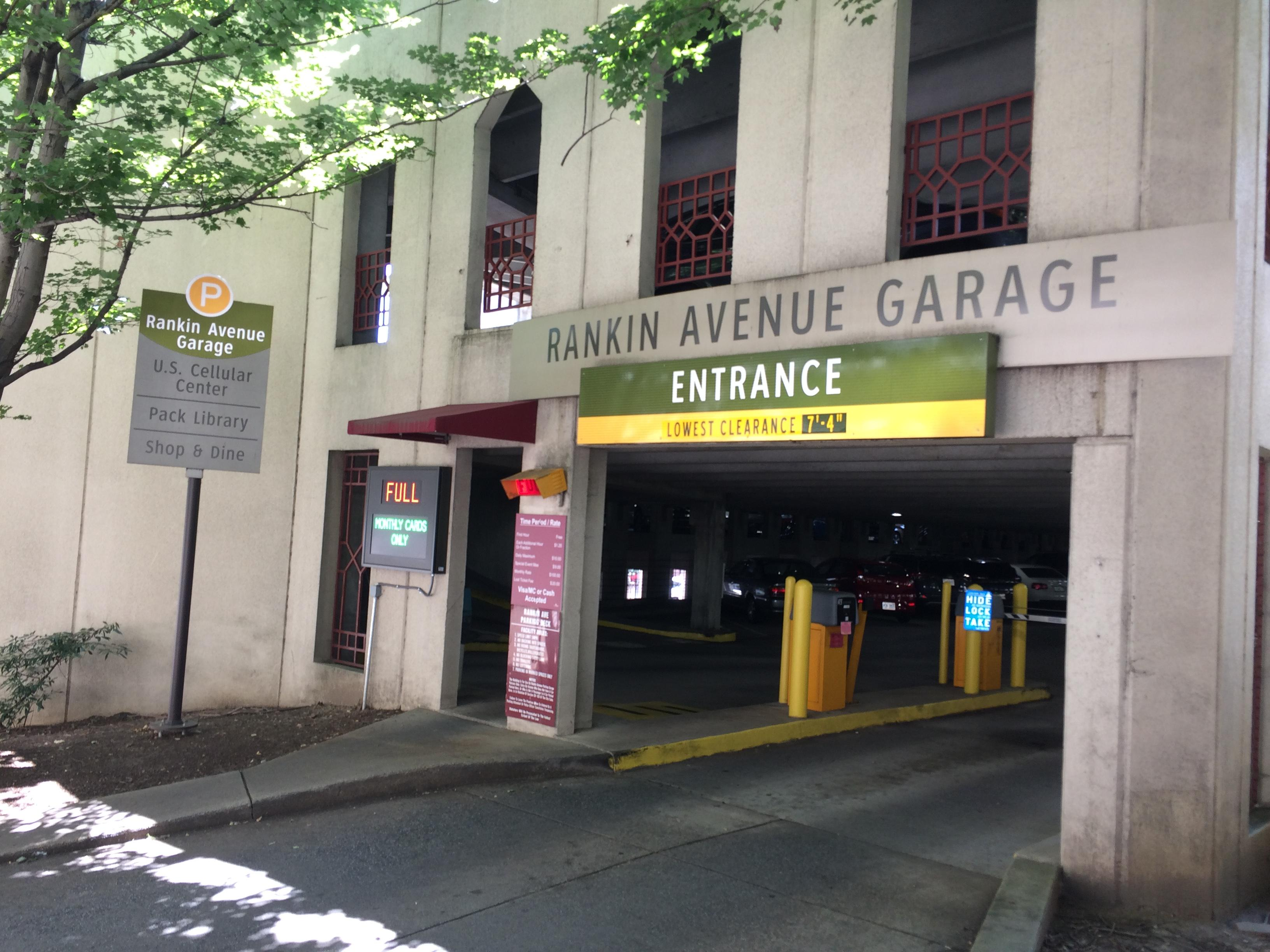 Two phony bills were found in the Rankin parking garage in downtown Asheville on Thursday. (Photo credit: WLOS Staff)